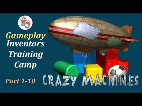 Crazy Machines - Inventors Training Camp - #Gameplay |