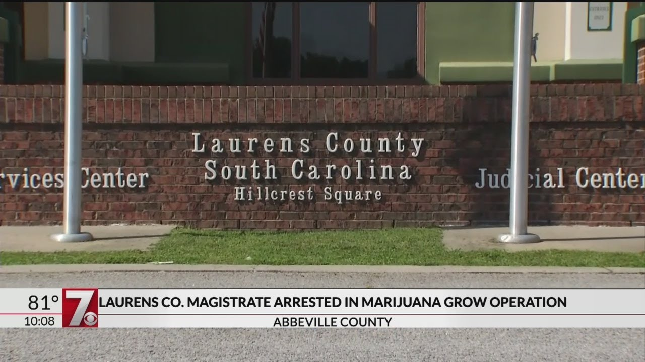 Laurens Co  magistrate, former Sheriff's Office investigator arrested in  pot growing operation