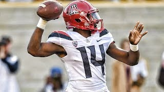 Khalil Tate Arizona 2017 Season Highlights ᴴᴰ