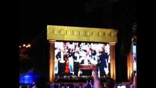 Concert Andre Rieu, vineri 5 iunie 2015 (5.06.2015), Bucuresti, Piata Constitutiei 31