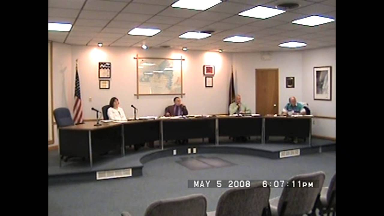Rouses Point Village Board Meeting  5-5-08