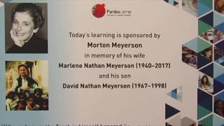 Pardes Day of Learning Morton Meyerson