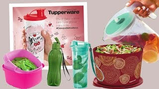 VITRINE 13 COMPLETA -TUPPERWARE 2017 | Junior e Jefferson