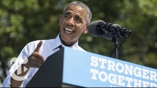 Obama Derides Trump's Veracity | Election 2016 | The New York Times