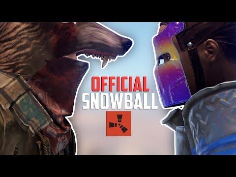 Rust - OFFICIAL SERVER SNOWBALL (Rust Raiding & PvP Highlights)