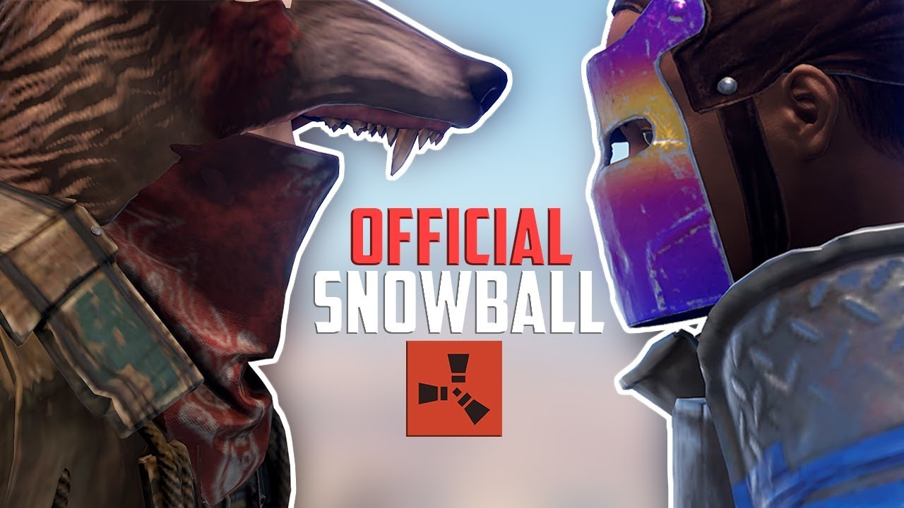 Rust - OFFICIAL SERVER SNOWBALL (Rust Raiding & PvP Highlights)