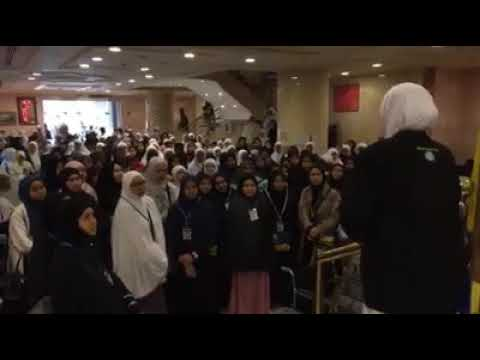 Panduan masuk ke Raudah untuk jemaah2 umrah wanita