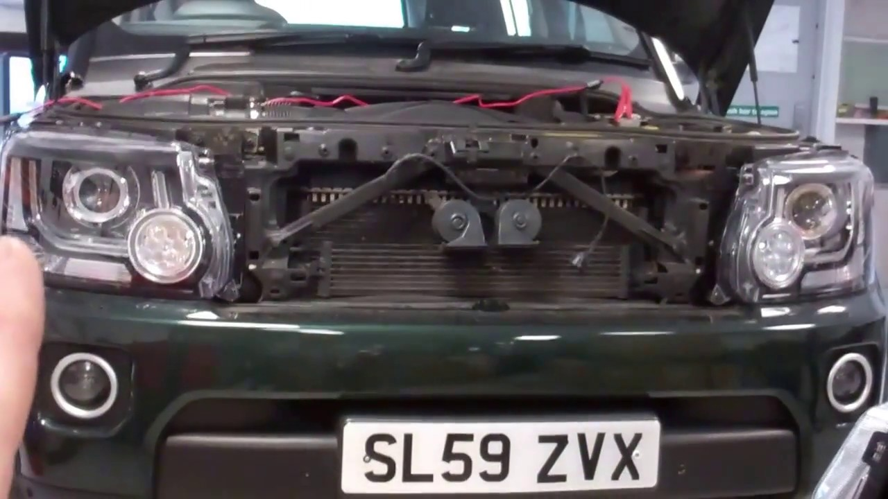 land rover discovery 4 xenon headlight upgrade with gap iid tool youtube. Black Bedroom Furniture Sets. Home Design Ideas
