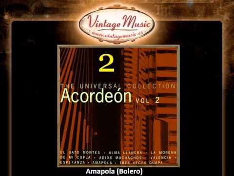 The Spanish Accordion -- Amapola (Bolero) (VintageMusic.es)