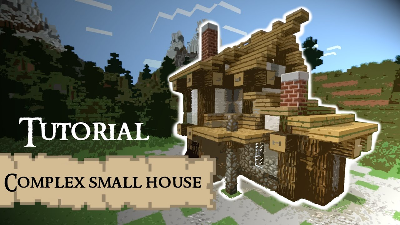 Complicated Building In Minecraft Tutorial