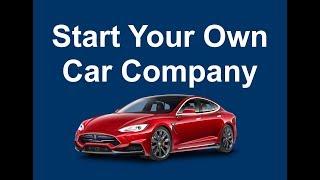 Comment faire pour Démarrer Votre Propre Entreprise Automobile © - AG Technologies USA, LLC™