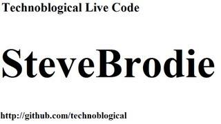 HTML live code: SteveBrodie 1/6 Mp3