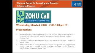 CDC ZOHU Call March 6, 2020