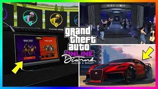 GTA 5 Online The Diamond Casino & Resort Update - TRAILER BREAKDOWN! Supercars, NEW Vehicles & MORE!