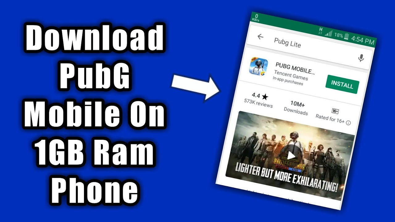 Pubg Mobile Lite Download On Android | 1GB,2GB Ram Game | Pubg Lite