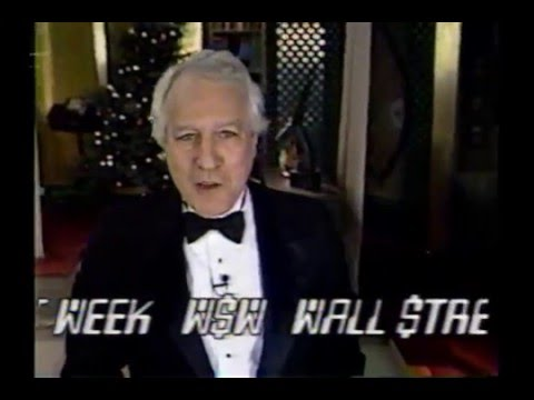Pt 1 Wall Street Week - New Years Edition (Dec. 27, 1991)