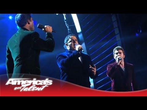"Forte - Operatic Tenor Group Performs ""Somewhere"" - America's Got Talent 2013"