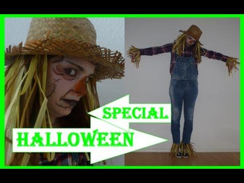 Halloween Last Minute Tutorial Mit Senebeauty Youtube