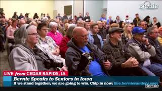 Bernie Sanders talks medicare for all with Iowa seniors Bernie Sanders talks with Iowa seniors about his medicare for all proposal Fair use for educational purposes only., From YouTubeVideos