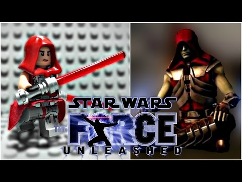 LEGO Star Wars The Force Unleashed - Starkiller Minifigure Review