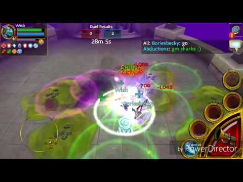 Arcane Legends PVP: Wish Vs Boriesbecky And News