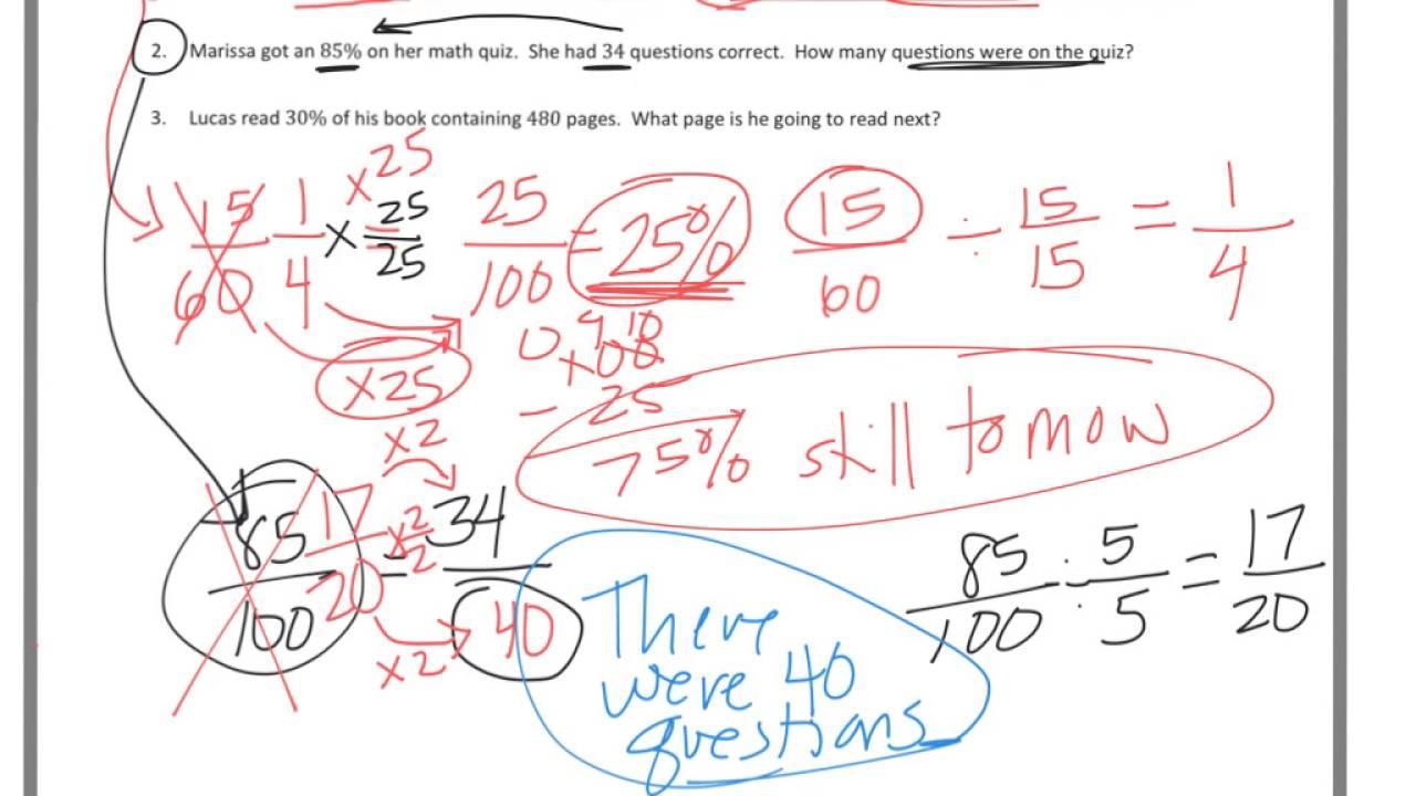 6th grade Module 1 Lesson 29 PS - YouTube