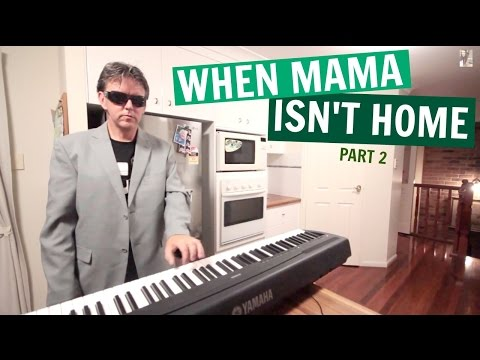 funny-dad-son-kitchen-music