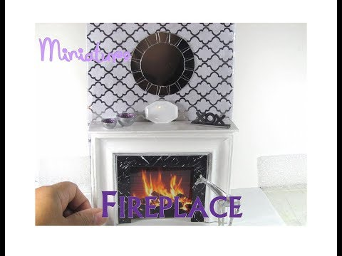 diy-dollhouse-furniture-glam-fireplace-from-a-dollar-tree-picture-frame