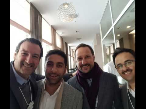 Sandro Salsano, Prince Haakon of Norway, Fahd Al Rasheed, Fahad Al Dhubaib