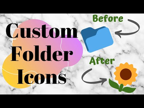 How to Change Folder Icons 2019 Tutorial || Pinay-Aussie Couple 🇵🇭🇦🇺|| Juna Rose thumbnail