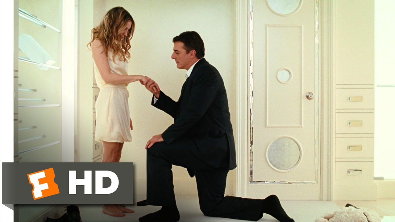 Sex And The City 6 6 Movie Clip Bigs Romantic Proposal 2008 Hd Youtube
