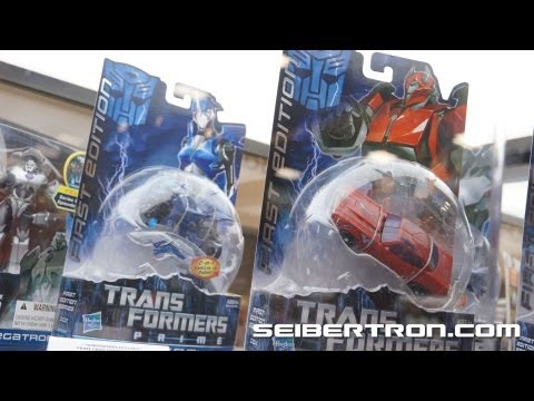 Hasbro's Transformers Prime First Edition Toys R Us exclusives SDCC 2012 - Seibertron.com