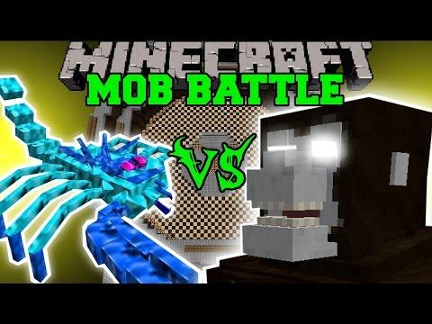 ARCTIC SCORPION VS EMPEROR SCORPION & KING KONG - Minecraft Mob Battles - Minecraft Mods