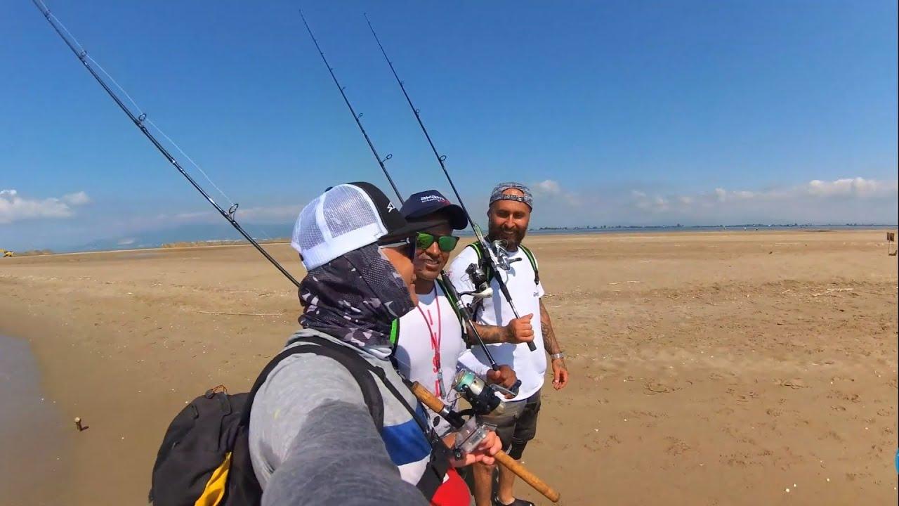 RESUMEN de la salida al Delta del Ebro haciendo pesca a spinning .