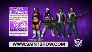 Saints Row IV   GAT V DLC Trailer