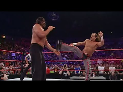 Can Shawn Michaels der Sweet Chin Music to The Great Khali? No Disqualification: Raw May 7, 2007