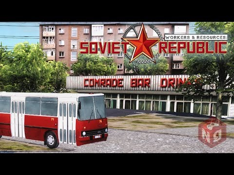 Workers & Resources: Soviet Republic - Объекты инфраструктуры! #2