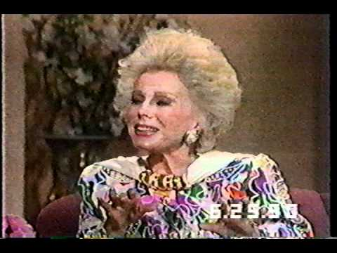 Eva Gabor on The Joan Rivers   1990