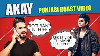 AKAY | New Punjabi Song Roast Video | Aman Aujla