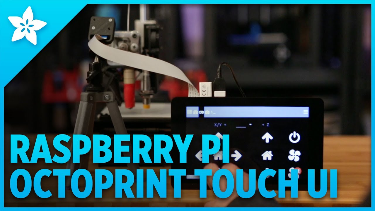 Raspberry Pi OctoPrint Touch UI: Quick look - YouTube