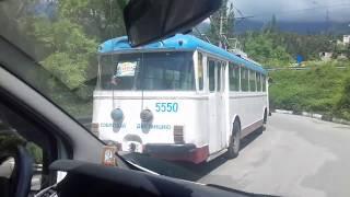 Ялта 2017/Троллейбус из прошлого