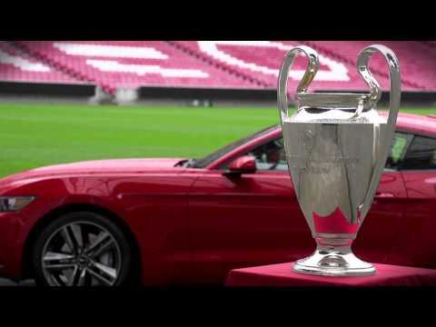 Neuer Ford Mustang kann am 24. Mai während des Champions League Finale vorbestellt werden