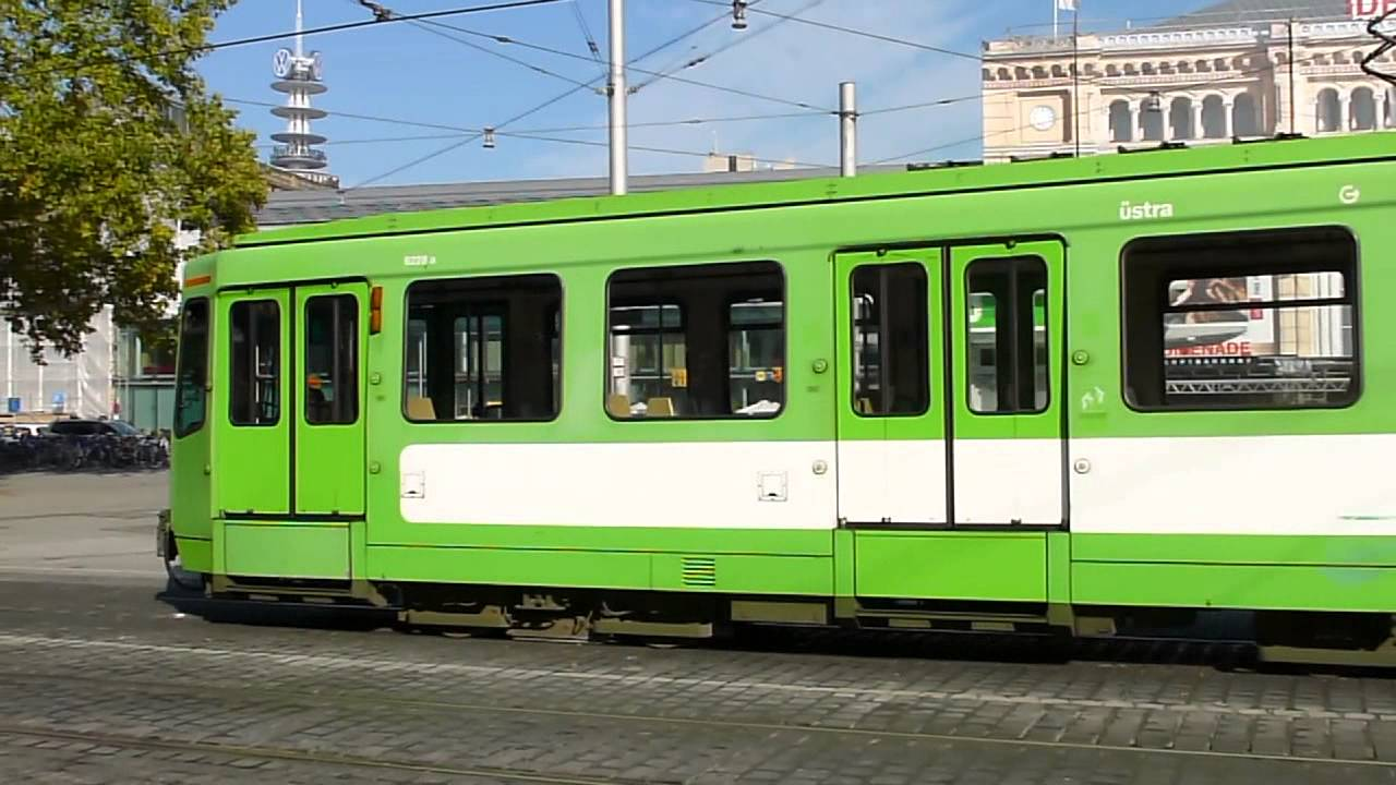 stadtbahnen hannover tw 6000 stra u bahn die gr ne stadtbahn youtube. Black Bedroom Furniture Sets. Home Design Ideas