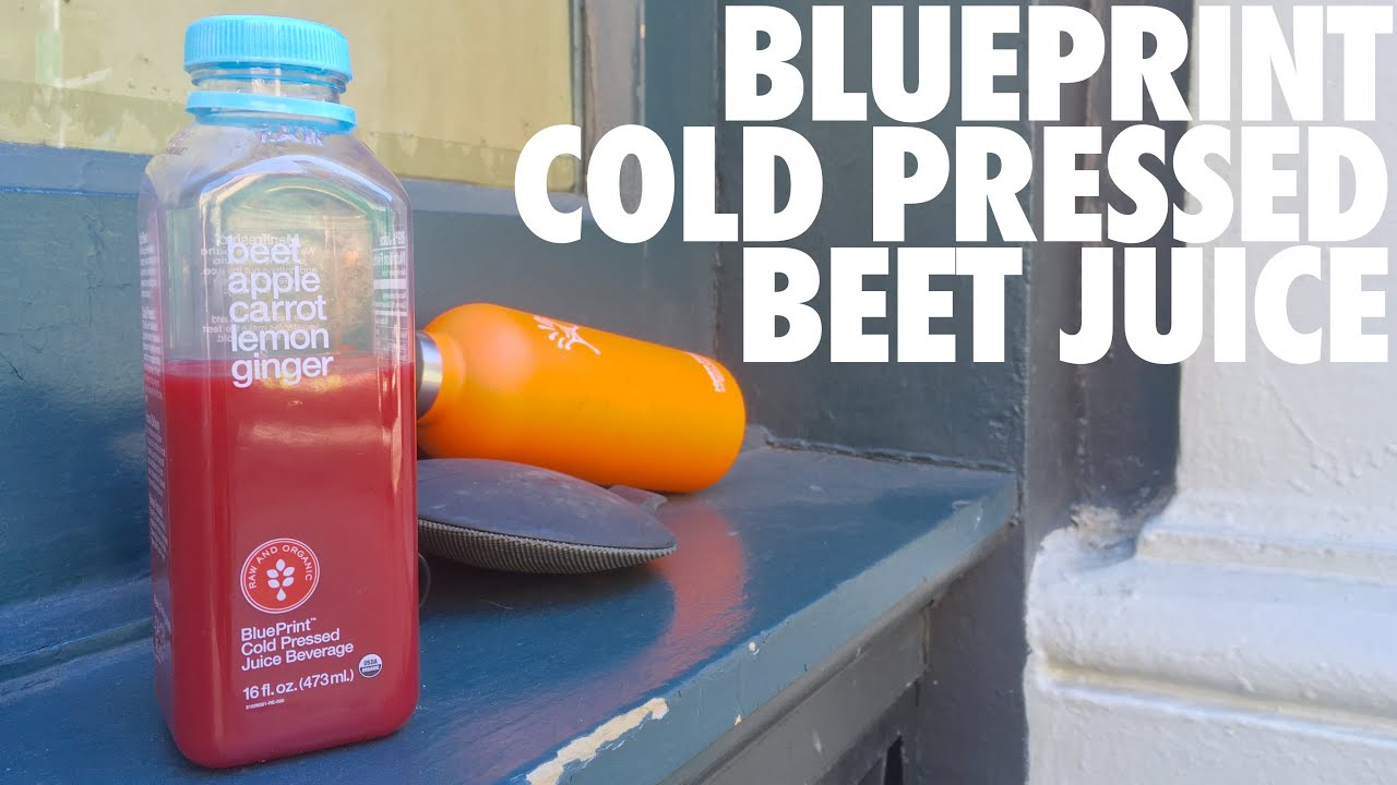 Blueprint cold pressed beet juice youtube blueprint cold pressed beet juice malvernweather Gallery