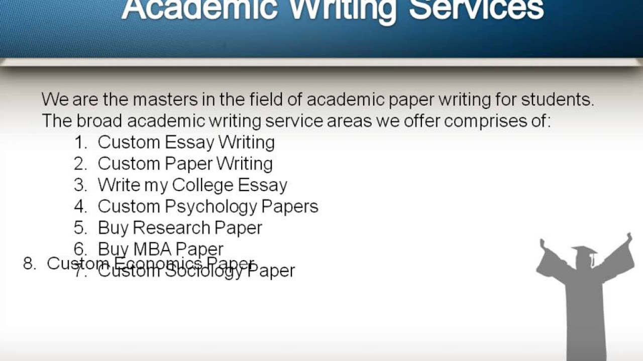 how to write papers for master