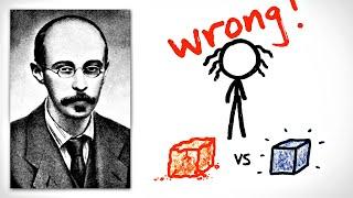 The Man Who Corrected Einstein