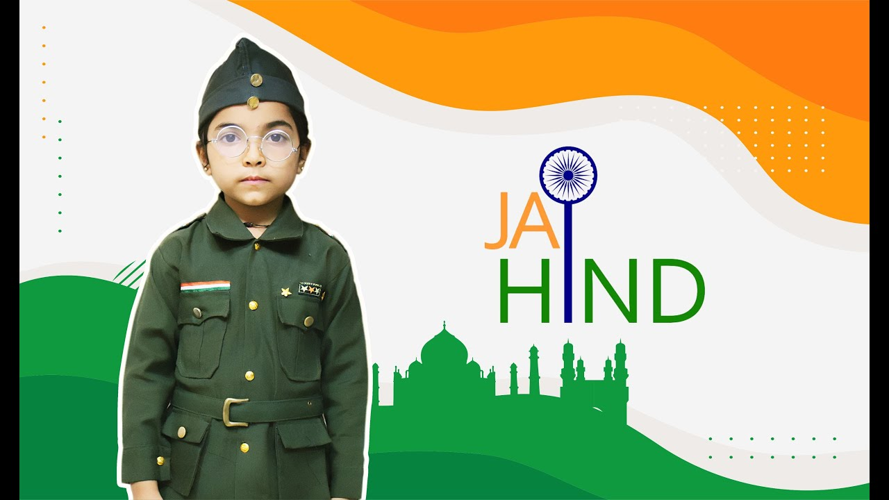 about subhash chandra bose for kids