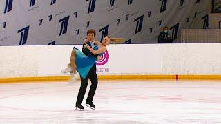 Юниоры Ритм танец Танцы на льду Кубок России по фигурному катанию 2020 21