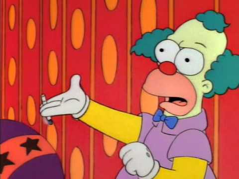 Krusty the clown - What the hell was that?