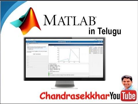 MATLAB Tutorial In Telugu (Lession-1)